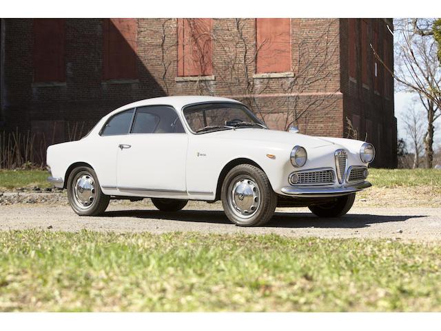 1962 Alfa Romeo Giulia Sprint Coupe  Chassis no. AR 353030 Engine no. AR 00526 *03237*