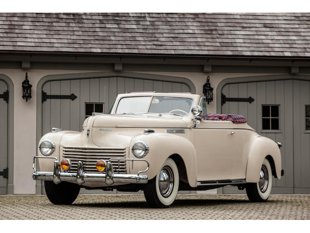 1940 Chrysler New Yorker Highlander Convertible  Chassis no. 6614233 Engine no. C26-3175