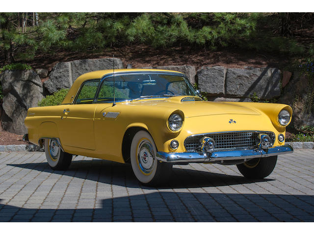 1955 Ford Thunderbird Convertible  Chassis no. P5FH104939