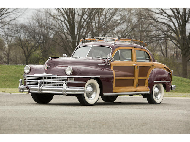 1948 Chrysler Town & Country Sedan  Chassis no. 71003985