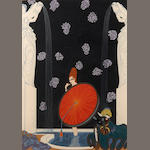 Erté (Romain de Tirtoff) (Russian, 1892-1990); Bath of the Marquise;