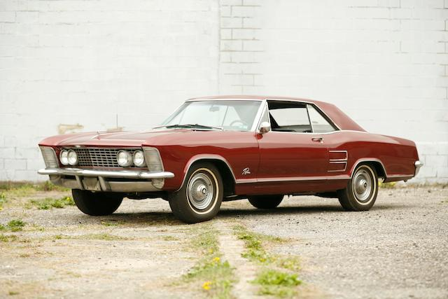 1964 Buick  Riviera Coupe  Chassis no. 7K1124379