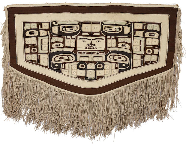A Northwest Coast Chilkat blanket