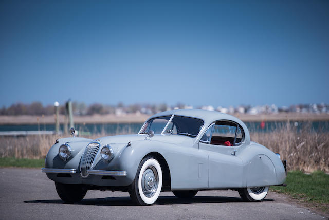 1953 Jaguar  XK120 Fixed-Head Coupe  Chassis no. 680162 Engine no. W6236-8
