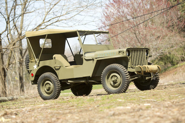 1945 Ford  Jeep Army GWP