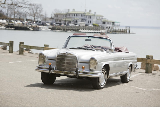 1964 Mercedes-Benz 220SE Convertible  Chassis no. 111023-12-046093