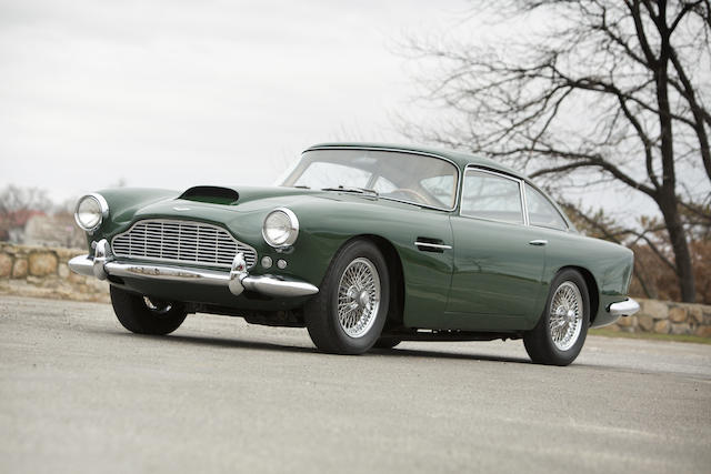 Original U.S. Supply, factory left hand drive,1961 Aston Martin DB4 Series III Saloon  Chassis no. DB4/664/L Engine no. 370/669