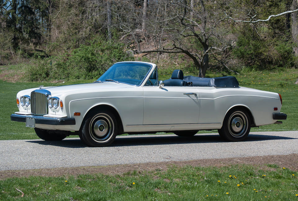 One of 77 Bentley Corniches built,1974 Bentley Corniche Series 1 Convertible  Chassis no. DRC17570