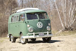 1967 Volkswagen Type 2 Westfalia Deluxe Camper with matching Westfalia Trailer  Chassis no. 247144598 Engine no. C718N4A2