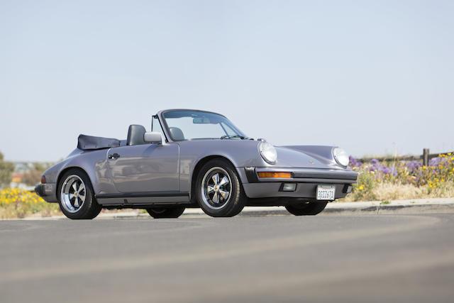 1989 Porsche 911 3.2 Cabriolet