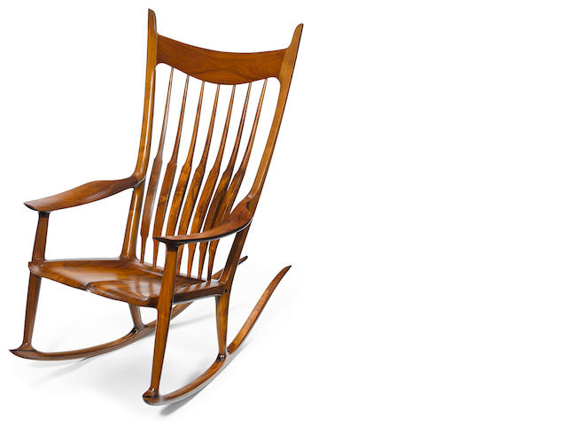 Sam Maloof (American, 1916-2009) Rocking Chair, 1998