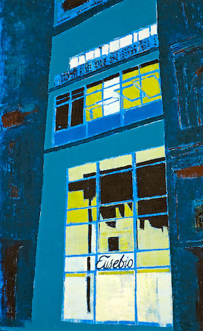 ENOC PÉREZ (b. 1967) Eusebio Hair Salon, Habana (Night), 2008