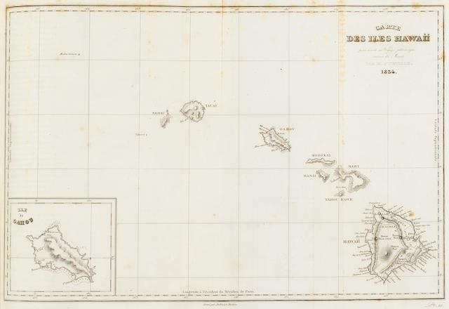 EXPLORATION. 1. DUMONT D'URVILLE, JULES SEBASTIEN CESAR. Voyage pittoresque autour du monde. Paris: L. Tenre, 1834-35.