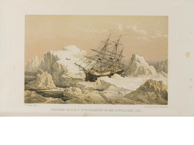 ARMSTRONG, ALEXANDER. 1818-1899. A Personal Narrative of the Discovery of the North-West Passage.... London: Hurst & Blackett, 1857.