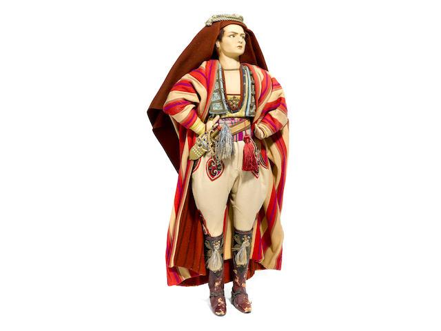 "A Rudolph Valentino Lenci Doll. 29""."