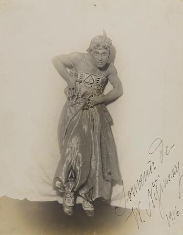 NIJINSKY, Vatslav Fomich (1889-1950).