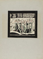 "REMIZOV, ALEKSEI MIKHAILOVICH. 1877-1957. Manuscript, ""U Lisy bal [At the Fox's Ball]"", 12 pp, folio, n.p., July 19, 1939,"