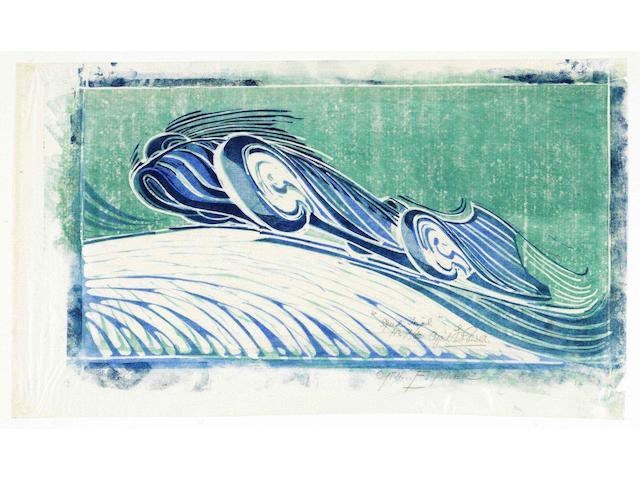 """Speed Trial"" by Cyril Edward Power"