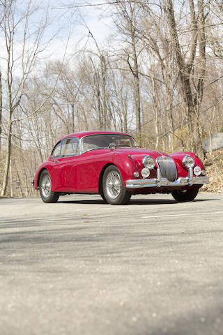 1958 Jaguar XK150 3.4-Liter Fixed Head Coupé  Chassis no. S834923BW Engine no. V2326-8