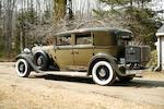 The only known surviving example,1932 Lincoln KB Four-Passenger Town Sedan  Chassis no. KB1377