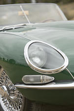 1962 Jaguar E-Type Series 1 3.8-Liter Roadster  Chassis no. 876857 Engine no. R4437-9