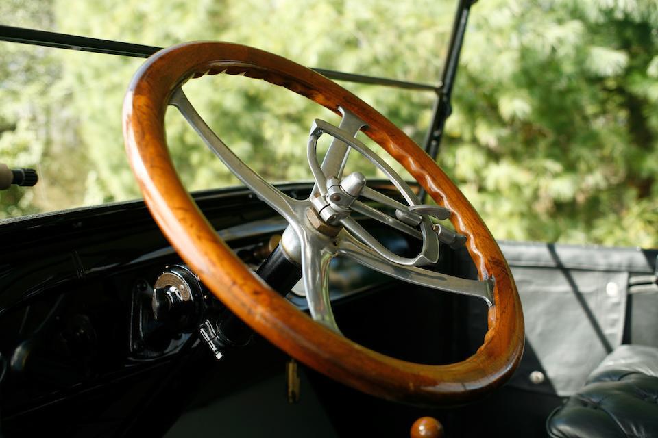 1917 REO Model M Seven-Passenger Touring  Chassis no. 20687 Engine no. 20687
