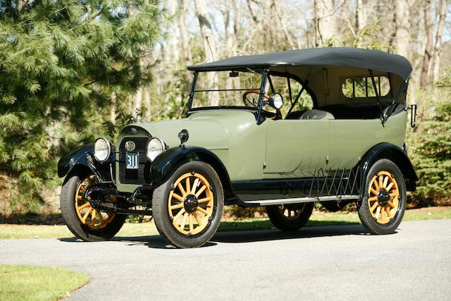 1917 REO Model M Seven-Passenger Touring  Chassis no. 20687 Engine no. 20687