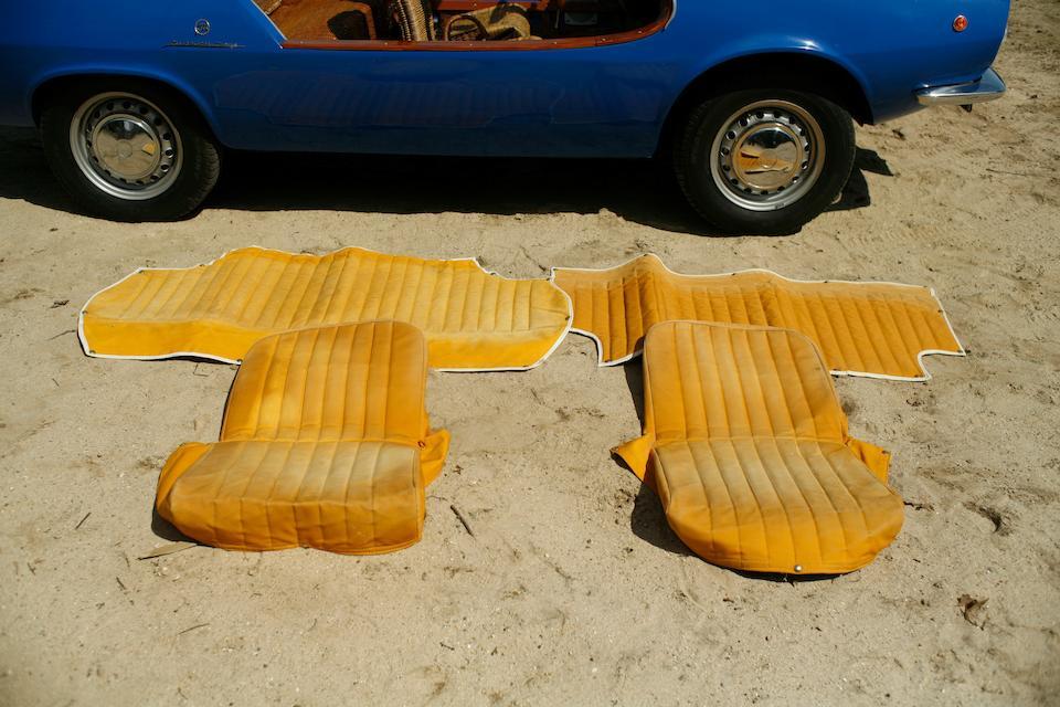 1969 Fiat Michelotti Shellette Beach Car  Chassis no. 100GB 1231722 Engine no. 100GB000