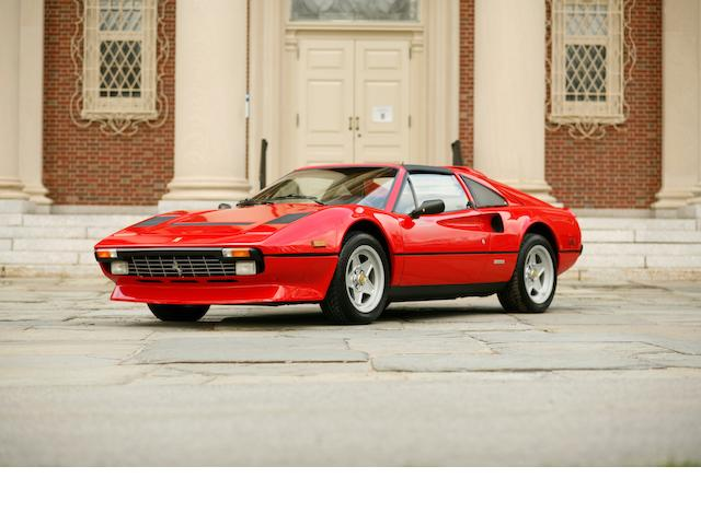Recently completed belt service,1984 Ferrari 308 GTS Quattrovalve  Chassis no. ZFFLABB0004S085 Engine no. 105A 00762