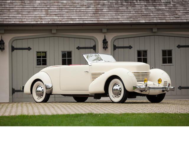 1936 Cord 812 Phaeton  Chassis no. 1206H