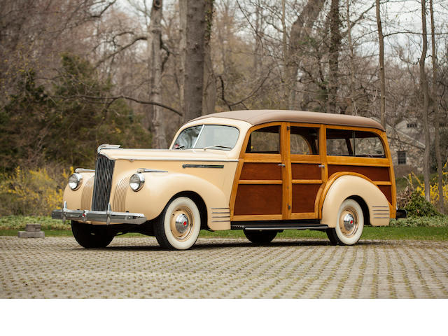 1941 Packard 110 Station Wagon  Chassis no. 14832080