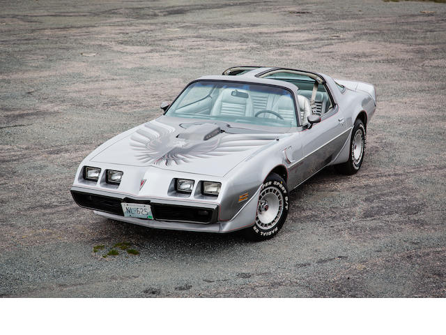 One owner from new,1979 Pontiac 10th Anniversary Limited Edition Trans Am T-Top Coupe   Chassis no. 2X87K9N155440
