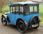 1929 Austin 7 4-Passenger Tourer  Chassis no. 97068 Engine no. M33726