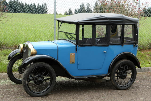 In the current ownership since 1961,1929 Austin 7 Four-Passenger Tourer  Chassis no. 97968