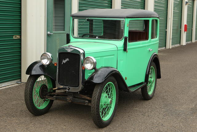 1931 Austin 7 Two-Door Saloon  Chassis no. 131701