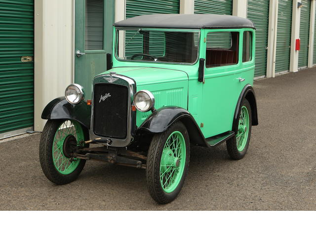1931 Austin Sedan  Engine no. M129195