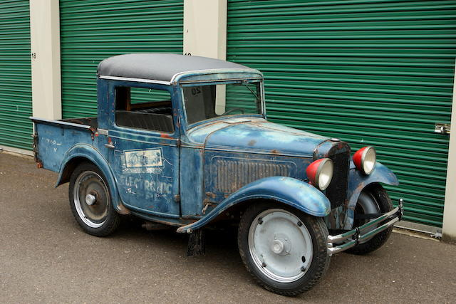 1933 Austin 2-door Pickup Truck  Chassis no. 342 Engine no. M-16713