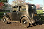 1936 Austin Seven Ruby – Left Drive Two-Door Saloon  Chassis no. 201767