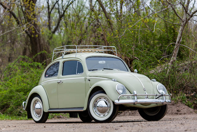 1960 Volkswagen Beetle 2-Door Sedan  Chassis no. 3084015 Engine no. 3865603