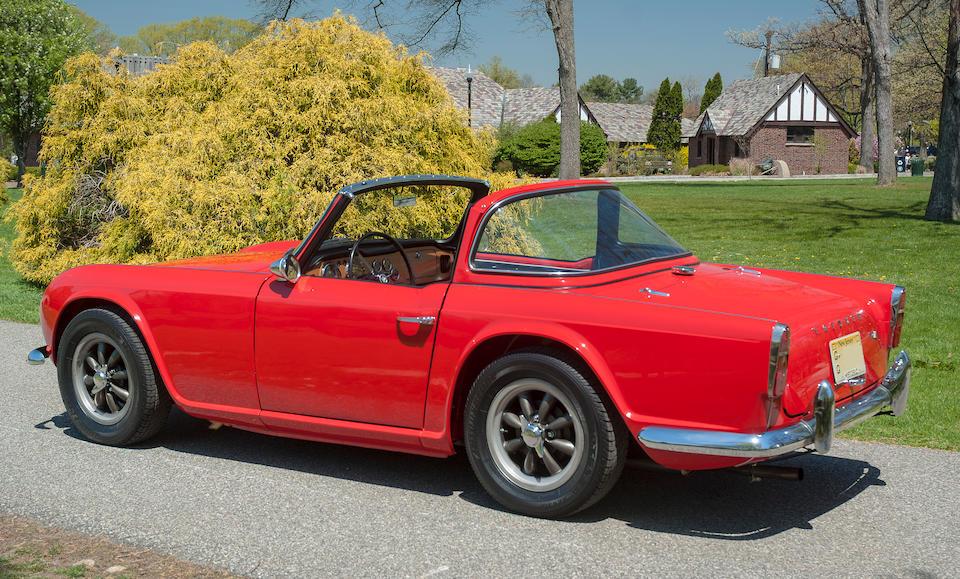 "1963 Triumph TR4 ""Surrey Top""  Chassis no. CT21834L0"