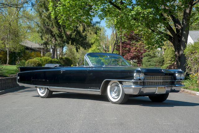 1963 Cadillac Eldorado Biarritz Convertible  Chassis no. 63E 103348
