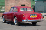 Long-term East Coast ownership,1962 Bentley S2 Continental 'Flying Spur' Saloon  Chassis no. BC91CZ Engine no. P4583