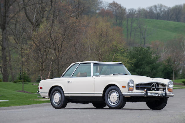 1969 Mercedes-Benz 280SL   Chassis no. 113044.12.009756