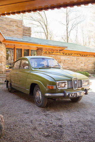 Originally Exported to Great Britain, An Unusual Vintage SAAB,1972 SAAB 96 V4  Chassis no. 96722008768