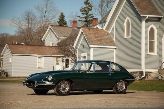 1967 Jaguar XKE Coupe  Chassis no. IE77695 Engine no. 7E53326-8