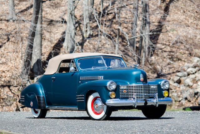 1941 Cadillac 6267-D Convertible Coupe