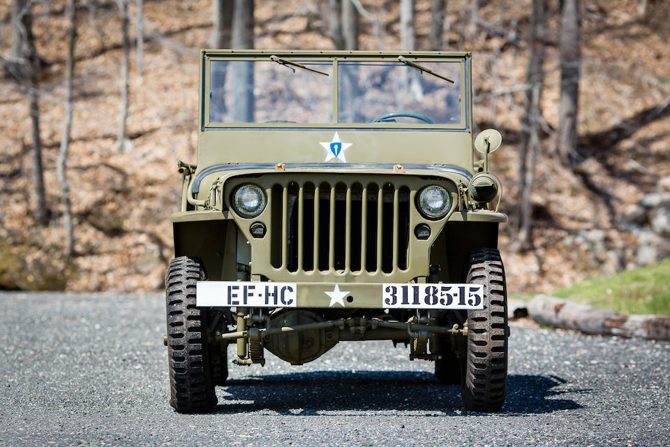 Never been restored,1944 Willys MB Jeep  Chassis no. 280026 Engine no. 619551