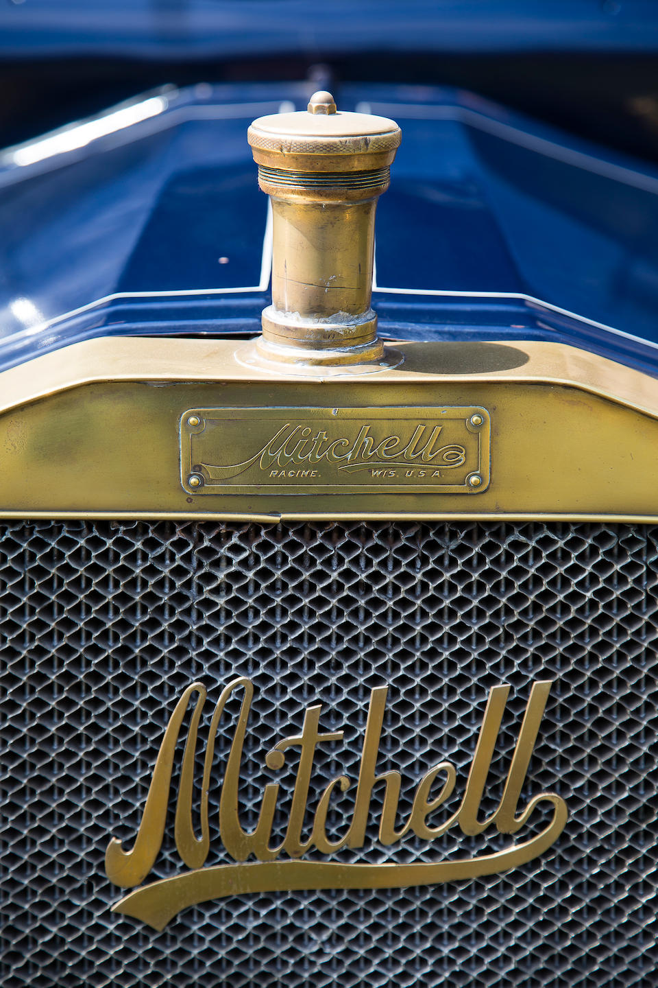Formerly in the Harrah Collection,1909 Mitchell Three Seater  Engine no. 6819