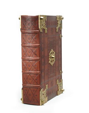 [GUTENBERG BIBLE—FACSIMILE.] Munich: Idion Verlag, 1977-78.<BR />