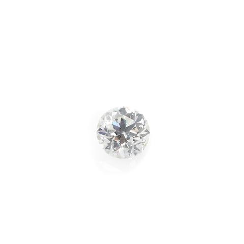 An unmounted old European-cut diamond